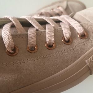 Converse Bisque Rose Gold Leather CTAS Lo Top NEW NWT